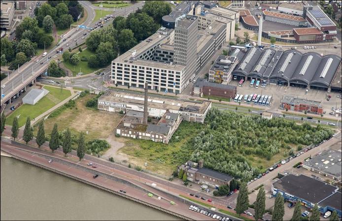 De voormalige Coberco-melkfabriek in Arnhem. Foto Theo Peeters