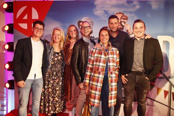 Ook de cast van 'De Mol' was aanwezig op het evenement.