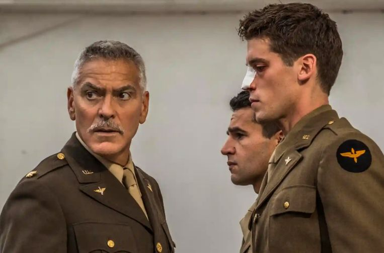 George Clooney in 'Catch 22'.