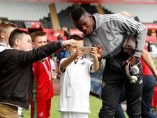 LIVE: Blind met United op bezoek bij Swansea City