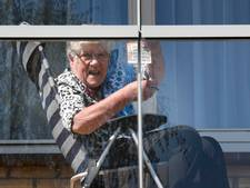 'Bingo!' vanaf het balkon