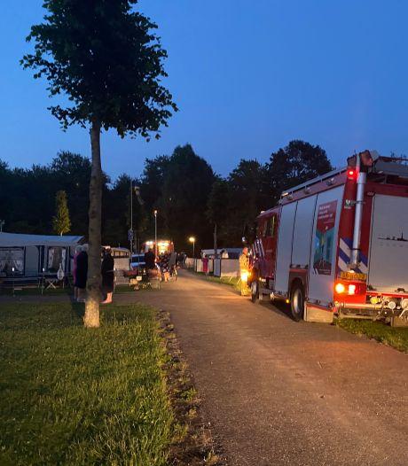 Kleine brand in caravan zorgt voor schrik op camping Flevonatuur in Zeewolde