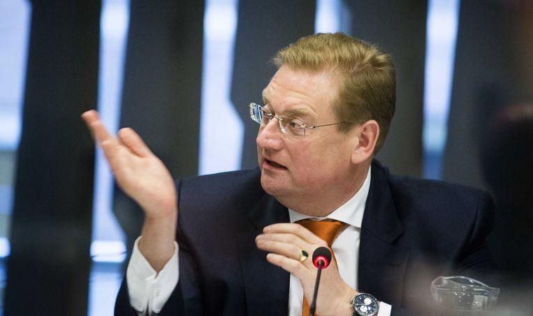 Minister Ard van der Steur van Veiligheid en Justitie. Beeld anp
