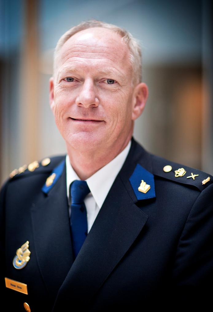 """Hoofdcommissaris Oscar Dros: ,,Ben het van harte eens met de boodschap van burgemeester Marcouch."""""""