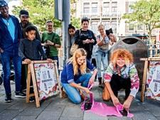 Kauwgom verandert in kunst