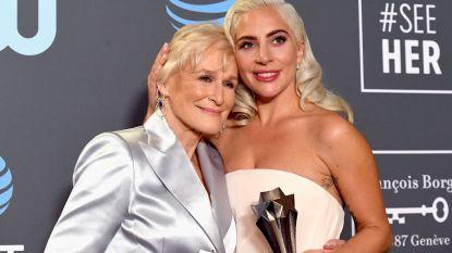 Glenn Close en Lady Gaga delen Critics' Choice Award vanwege gelijkspel (en ze waren niet de enigen die dat overkwam)