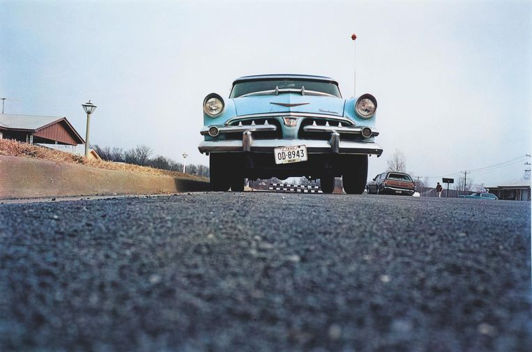 Foto die William Eggleston maakte tijdens zijn road trips. Beeld Willian Eggleston