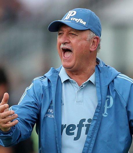 Scolari (71) gaat maar door en wordt trainer Cruzeiro