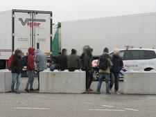 Irakese en Afghaanse verstekelingen aangetroffen in vrachtwagen Hazeldonk