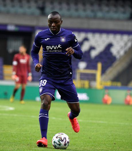 Edo Kayembe quitte Anderlecht pour Eupen