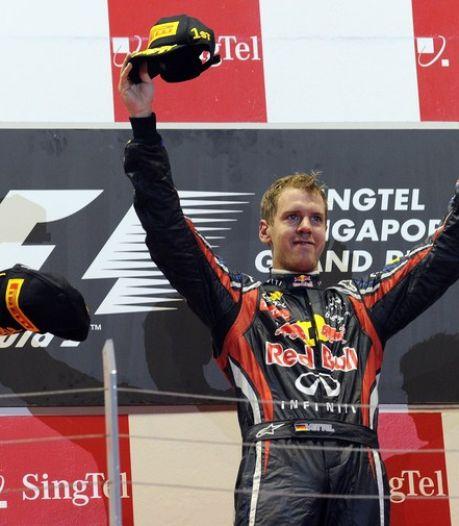 Sebastian Vettel victorieux et tout proche du titre