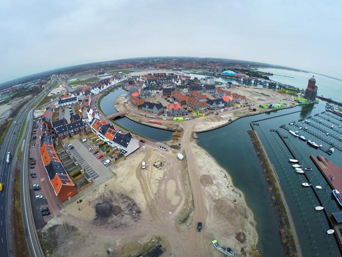 De woningbouw in het Waterfront is voortdurend in ontwikkeling.