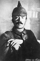 Hitler tijdens WOI