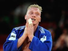 Judoka De Wit grijpt naast bronzen plak op Grand Slam in Boedapest