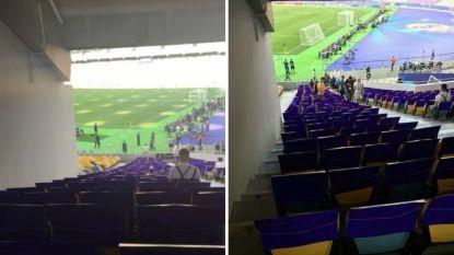 55 euro betaalde je voor een zitje met 'beperkt zicht' voor de Champions League-finale. En dat was nog behoorlijk veel