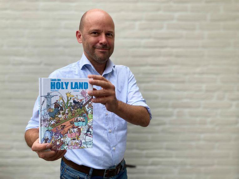 Met Holy Land is Louis Ide al toe aan zijn tweede roman.
