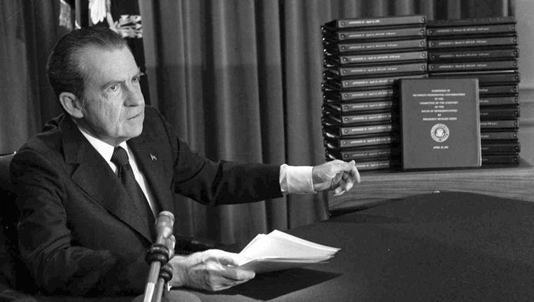 President Richard M. Nixon in 1974. Beeld ap