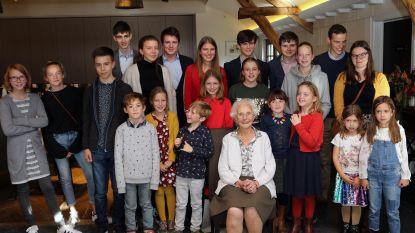 Maria Verwimp is 100 jaar