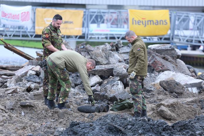 Granaten gevonden bij werkzaamheden Honselersdijk