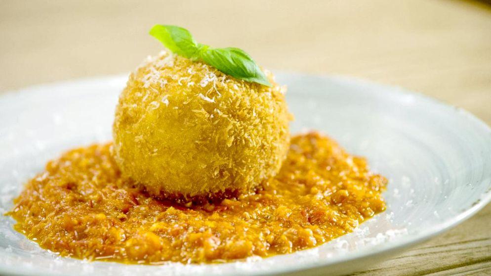 Italië op je bord: Loïc maakt arancini