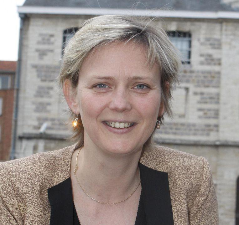 Katrien Partyka is de eerste vrouwelijke burgemeester van Tienen.