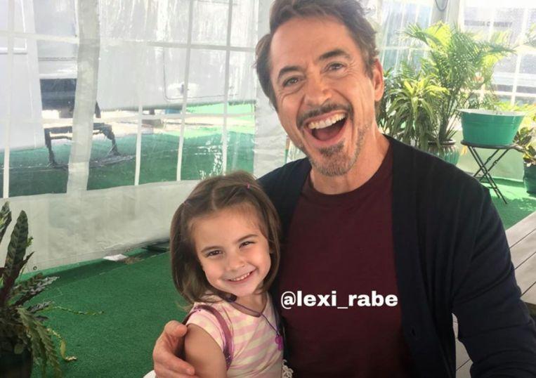 Lexi met Robert Downey Jr..