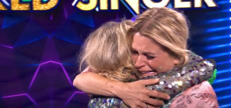 Emotioneel weerzien K3 na ontmaskering Kathleen in Vlaamse Masked Singer