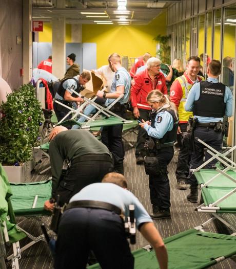 900 reizigers gestrand op Eindhoven Airport, maandag wordt weer gevlogen