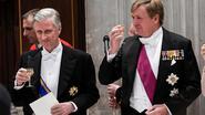 """Koning Willem-Alexander: """"Nederland boft met buur als België"""""""