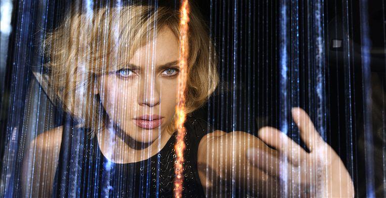 Scarlett Johansson in Lucy (Luc Besson, 2014). Beeld null
