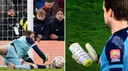 Goede voorbereiding is alles: Tim Krul beslist strafschoppenserie tegen Tottenham door slim trucje met drinkfles