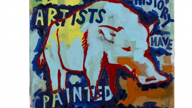 """Jong Gents kunstenaarsduo wint 9de Nationale Prijs voor Schilderkunst Louise Dehem: """"We prijzen de winnaars voor hun frisheid en hoge dosis rock-'n-roll"""""""