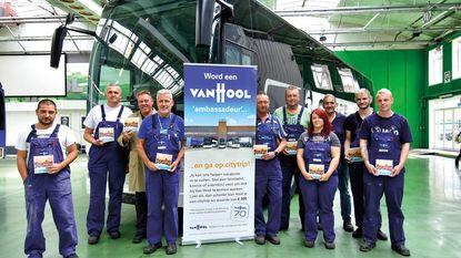 Gezocht: 215 werknemers voor Van Hool