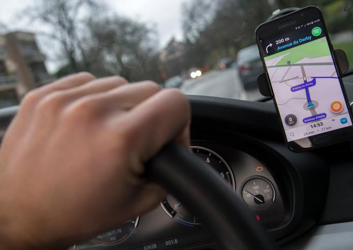 L'application Waze permet actuellement de repérer l'organisation d'un contrôle.