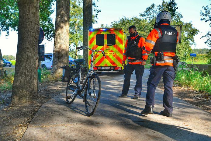 Fietser aangereden door tractor in Bergeijk