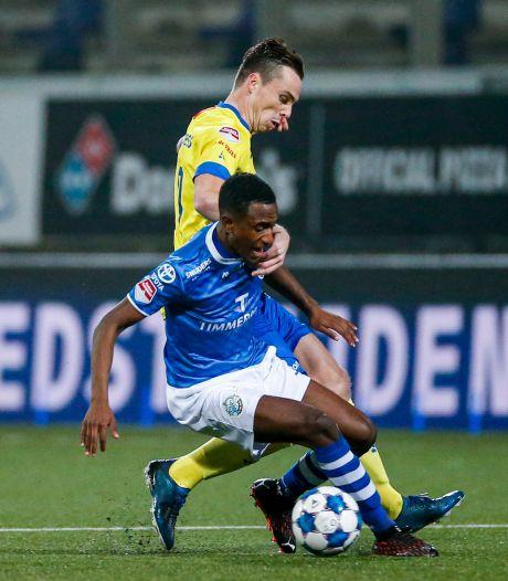 FC Den Bosch mag een uur aan een stunt denken, maar verliest uiteindelijk 'gewoon' bij SC Cambuur
