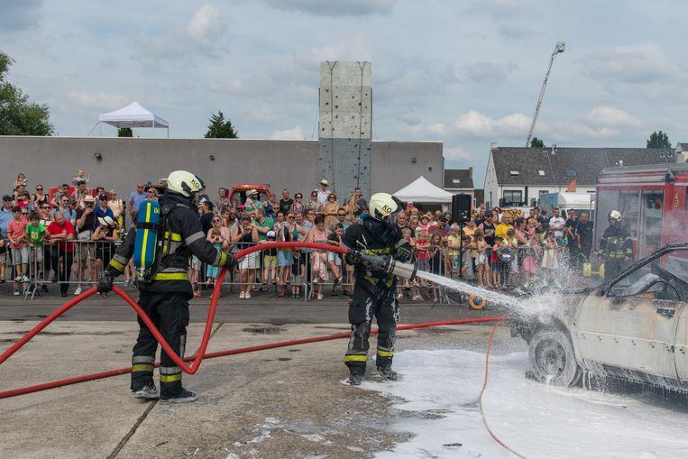 Opendeurdag Zone Rand-brandweer Kontich.