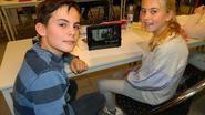 Kinderen zetten boekbespreking op YouTube