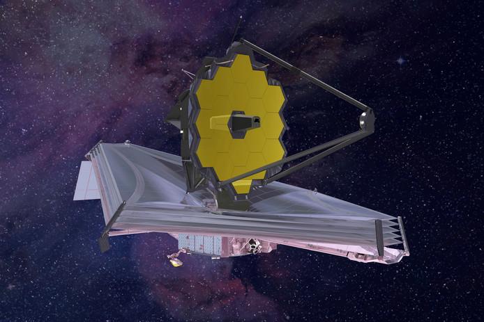 De James Webb ruimtetelescoop is de langverwachte opvolger van de Hubble.