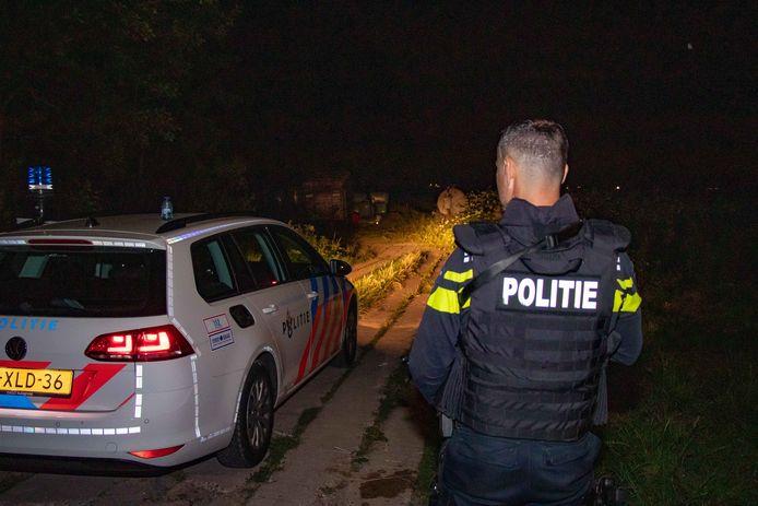 In Haaften werd een drugslab aangetroffen.