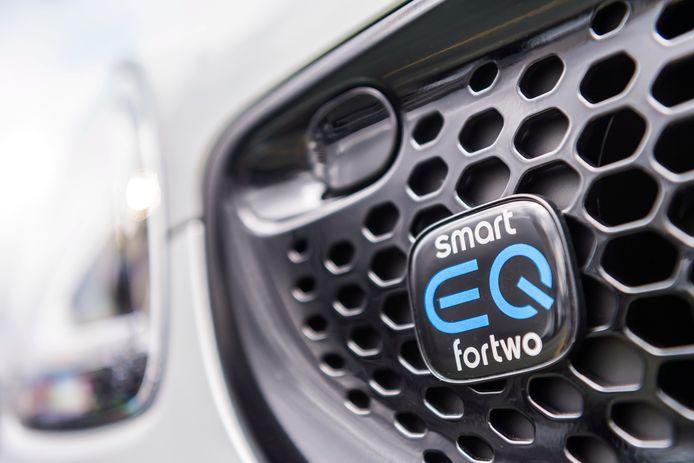 De Smart EQ Fortwo is in Nederland louter elektrisch leverbaar