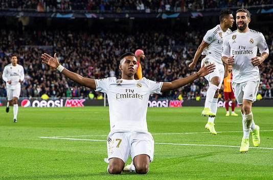 Rodrygo maakte een hattrick namens Real Madrid.