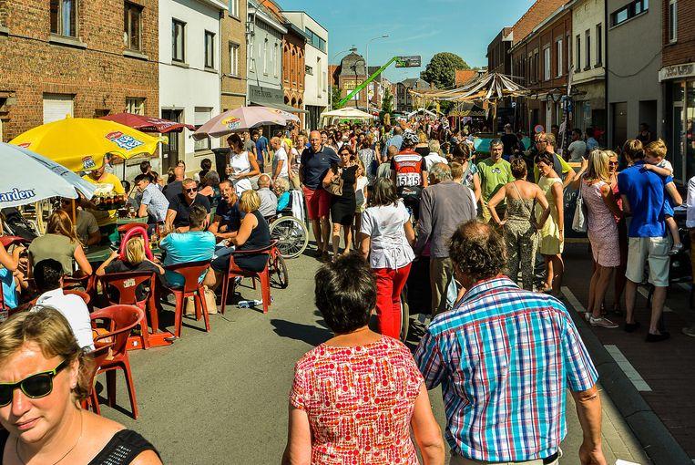De Gapersfeesten lokken elk jaar veel volk naar Geluwe.