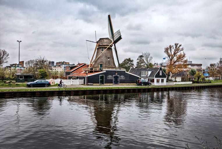 De Krijtmolen aan de Noordhollandschkanaaldijk. Beeld Raymond Rutting / de Volkskrant