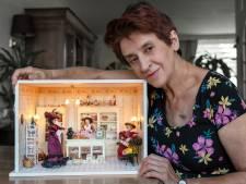 Margreet (67) maakt haar eigen poppenhuizen: 'Het is zeker géén kinderspeelgoed'