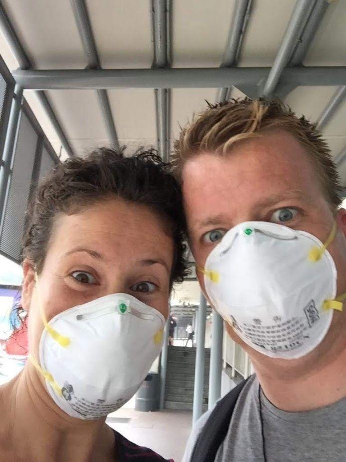 2020 Robin Teurlings en zijn vriendin Claudia (privefoto)