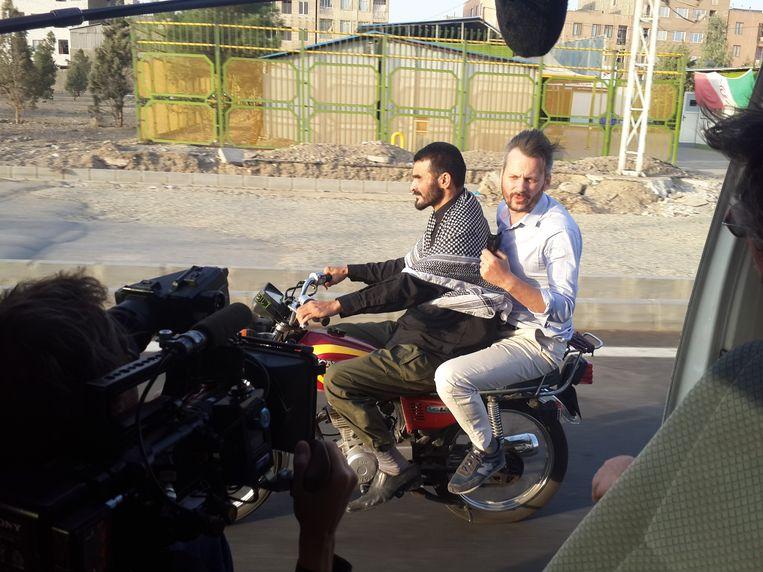 Thomas Erdbrink in Onze Man in Teheran. Beeld null