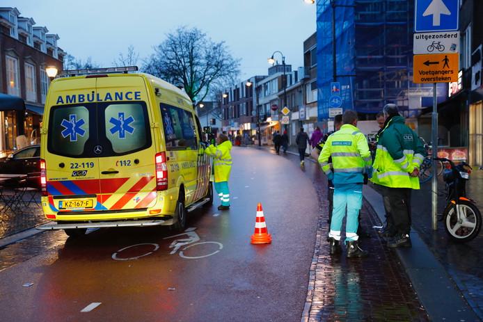 Ongeval bromfietser Eindhoven