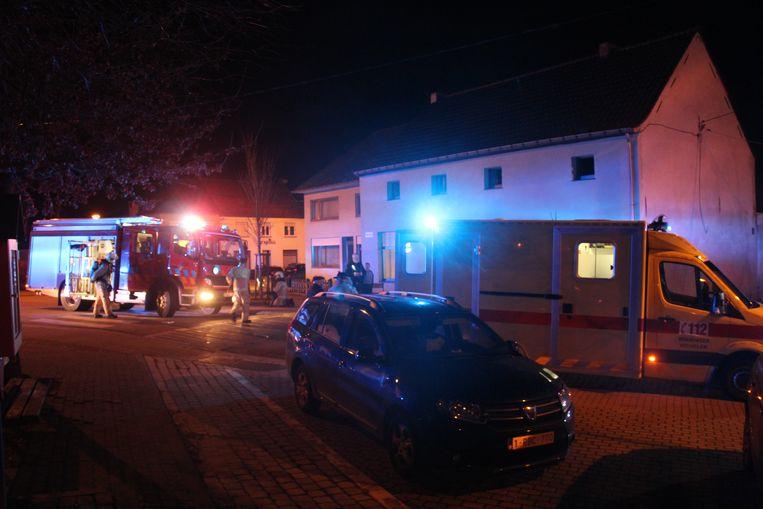 De slachtoffers werden met drie verschillende ziekenwagens naar de Aalsterse ziekenhuizen gevoerd.