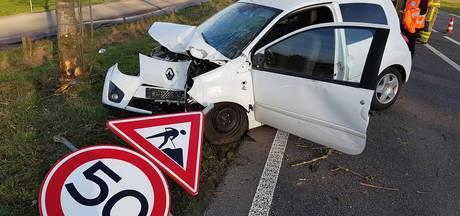 Vrouw gewond bij eenzijdig ongeval op N317 in Ulft